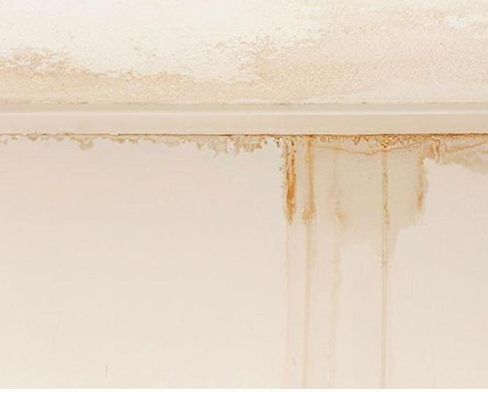 Water Damage Leaky Ceiling